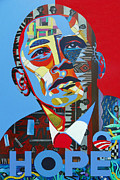 President Paintings - Obama  by Gray