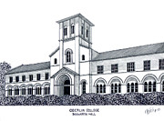 Famous College And University Buildings - Oberlin College by Frederic Kohli