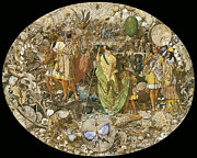 Supernatural Digital Art - Oberon And Titania Circa 1850 by Richard Dadd