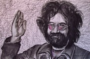 Jerry Garcia Pastels - Obligedly Deceased by Eric Dee