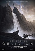 Movie Poster Prints Posters - Oblivion Tom Cruise B Poster by Movie Poster Prints