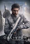 Movie Poster Prints Posters - Oblivion Tom Cruise Poster by Movie Poster Prints
