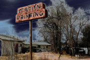 Typographic  Photos - OBrien Printing by Ric Bascobert