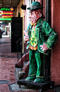 Sculpture For Sale Framed Prints - OBriens Leprechaun Framed Print by John Rizzuto