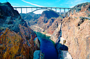 Mohave Az Framed Prints - OCallahan Tillman Memorial Bridge Framed Print by Art Kardashian