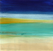 Ocean Blue 3 Print by Linda Woods