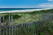 New England Ocean Prints - Ocean Blues Print by Bill  Wakeley