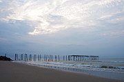 Pier Digital Art - Ocean City at the  59th Street Pier by Bill Cannon
