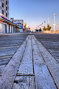 Boardwalks Photo Posters - Ocean City Poster by JC Findley