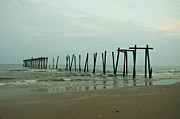 Ocean City Nj Prints - Ocean Citys 59th Street Pier Print by Bill Cannon