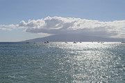 Lahaina Digital Art Prints - Ocean Diamonds Print by Paulette Wright