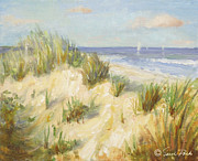 Residential Paintings - Ocean Dunes by Sarah Parks