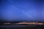 Jerseyshore Photo Originals - Ocean Grove Milky Way by Michael Ver Sprill