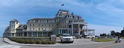 Old Inns  Prints - Ocean House Pano - Rhode Island Print by Anna Lisa Yoder