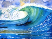Carlin Paintings - Ocean Spray by Carlin Blahnik