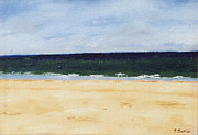 Cape Cod Paintings - Ocean Tranquility at Chappy by Patrick Mancini