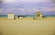 Ocean View 3 - Miami Beach - Florida Print by Madeline Ellis