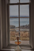 Oil Lamp Prints - Ocean View Print by Kati Tomlinson