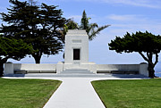 Cremation Photos - Ocean View Monument by Craig Carter