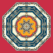Ocean Waves - Mandakal 04cm22a Print by Aimelle