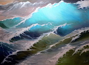 Paiting Originals - Ocean Waves by Svilen And Lisa