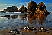 Oregon State Art - Oceanside Sea Stacks by Adam Jewell