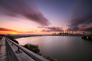 All - Oceanside Sunset 17 by Larry Marshall