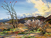 Robert Gerdes - Ocotillo Before the Storm