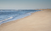 Beach Photograph Posters - Ocracoke Beach Poster by Steven Ainsworth