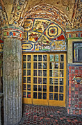 French Door Prints - October At Fonthill Castle Print by Susan Candelario