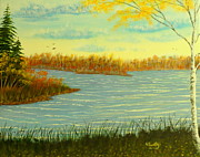 David Bentley Art - October Breeze by David Bentley