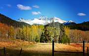 Rocky Mountains Digital Art - October Day  by Ellen Lacey