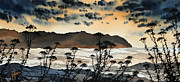 Seashore Fine Art Print Posters - October Shore Poster by James Williamson