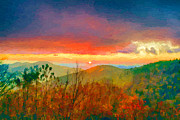 John Haldane - October Sunrise Painting...