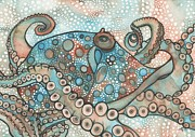 Octopus Print by Tamara Phillips