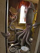 Octopuses Framed Prints - Ocupados Framed Print by Mark Zelmer