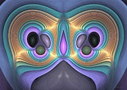 Imagination Digital Art Originals - Odd owl - Surrealism by Sipo Liimatainen