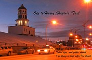 Snow Scenes Digital Art Metal Prints - Ode to Harry Chapins Taxi Metal Print by John Malone