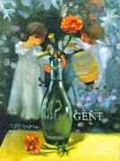Janet Mcgrath Metal Prints - Ode to Sargent Metal Print by Janet McGrath