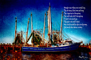 Rhyme Digital Art Framed Prints - Ode to Shrimpers Framed Print by Barry Jones