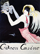 Nightclub Posters - Odeon Casino Poster, 1920 Poster by Granger