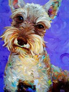 Robert Phelps Robert Phelps Art Framed Prints - Odie Framed Print by Robert Phelps