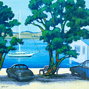 Aotearoa Paintings - Of Boats and Summer by Patricia Howitt