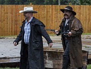 Wild Bill Hickok Photos - Off to Jail by Elaine  OBrien