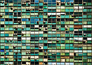 Air Conditioner Prints - Office Building Details Print by Jess Kraft
