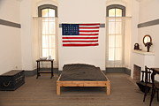Beds Photos - Officers Quarters at San Francisco Fort Point 5D21533 by Wingsdomain Art and Photography