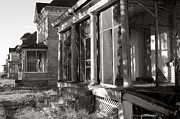 Abandoned Houses Prints - Officers Row Print by Jim Hughes