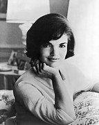Woman Art - Official Photograph Of Jackie by Underwood Archives