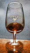 Offley Port Wine Glass Print by David Letts