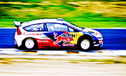 Hampton Downs Framed Prints - Ogier Citroen WRC Framed Print by motography aka Phil Clark